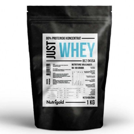 Just Whey Protein koncentrat 80% - 1000g