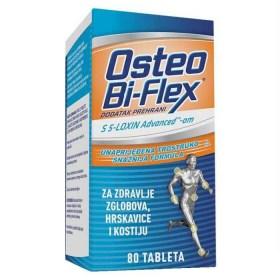 Osteo Bi-flex tablete za zdravlje zglobova, hrskavice i kostiju, 80 kom.