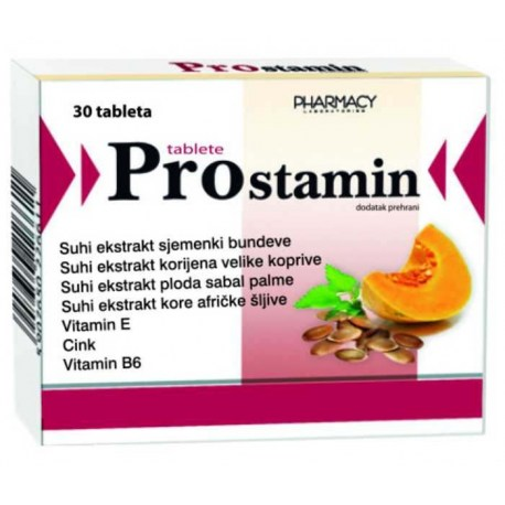 Prostamin se koristi za održavanje normalne funkcije prostate i urogenitalnog sustava.