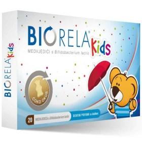 Biorela Kids probiotik, 20 kom.
