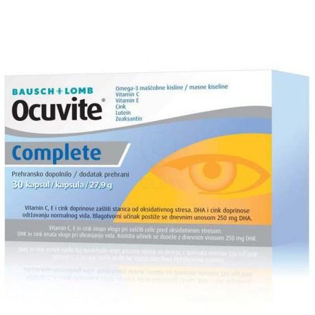 Ocuvite Complete kapsule za zdravlje očiju 30 kom.