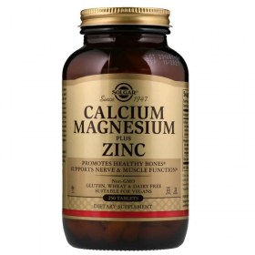 Solgar Kalcij, magnezij plus cink tablete