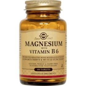Solgar Magnezij s vitaminom B6 tablete