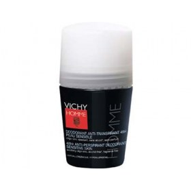 Vichy HOMME Roll-on Deodorant Sensitive Skin