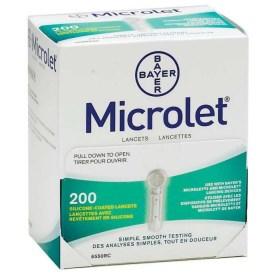 Lancete Microlet 200 kom.