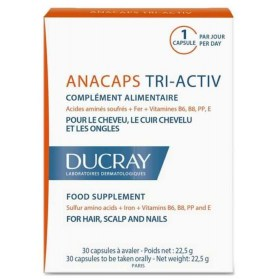 Ducray Anacaps tri-ACTIV capsules for hair, scalp and nails