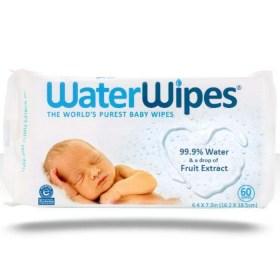 WaterWipes vlažne maramice bez kemikalija 60 kom.