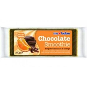 Ma Baker zobena pločica s belgijskom čokoladnom i narančom 90g