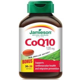 Jamieson CoQ10 120mg kapsule 60 kom.