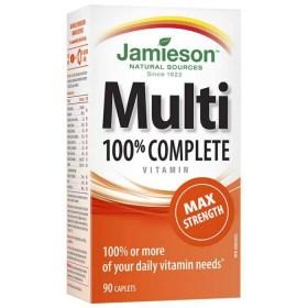 Jamieson Multivitamini i minerali maksimalna snaga 90 kom.