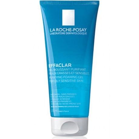 La Roche-Posay Effaclar Pjenušavi gel za čišćenje masne, osjetljive kože 200ml