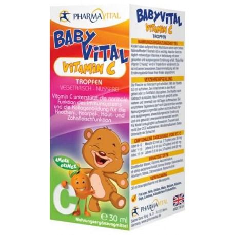 PharmaVital Babyvital Vitamin C kapi 30ml