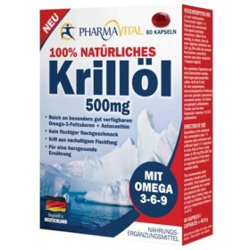 PharmaVital Krill oil kapsule 60x500mg