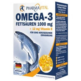 PharmaVital Omega 3 1.000mg + 12mg Vitamin E