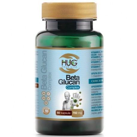 HUG Beta Glucan Complex kapsule 60 kom.