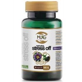 HUG Natural Stress Off Capsules 30x625mg