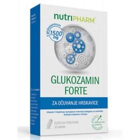 Nutripharm Glukozamin Forte za zdravlje hrskavice 30 kom.