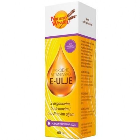 Natural Wealth Prirodno vitaminsko E ulje 60ml