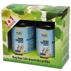 HUG Beta Glucan Complex Capsules 1+1 FREE
