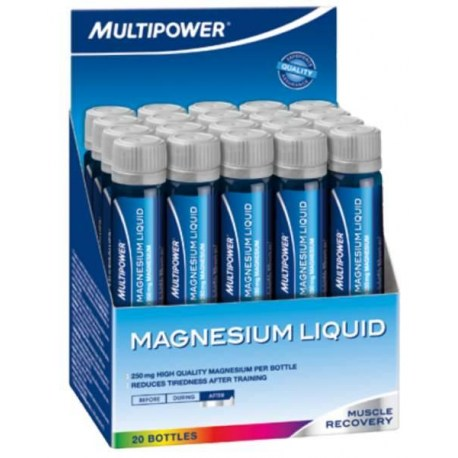 Multipower Magnesium liquid, 20x25ml