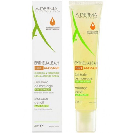 A-Derma Epitheliale A.H Duo masažno gel-ulje 40ml
