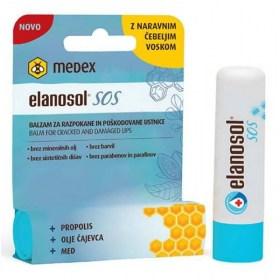 Elanosol SOS balm for cracked and damaged lips