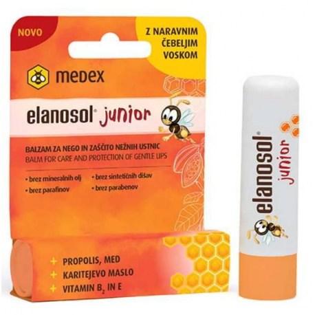 Elanosol Junior balzam za njegu i zaštitu nježnih usana