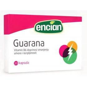Encian Guarana kapsule pomažu boljoj koncentraciji