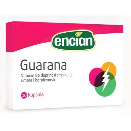 Encian Guarana kapsule 20 kom.