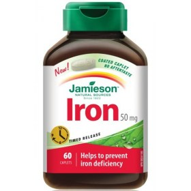 Jamieson Željezo tablete 50mg