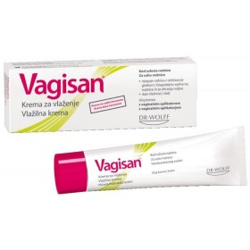 Vagisan cream to relieve symptoms caused by vaginal dryness