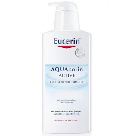 Eucerin AQUAporin ACTIVE osvježavajući gel za tuširanje, 400ml