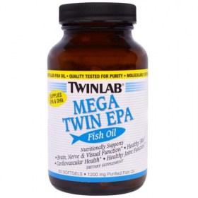 Twinlab Mega Twin EPA, 60 kom.
