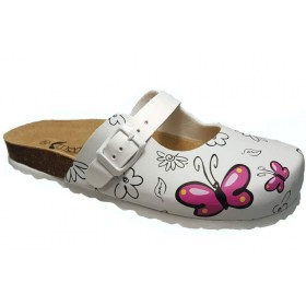 Mediwalk flip flops closed strap Butterfly