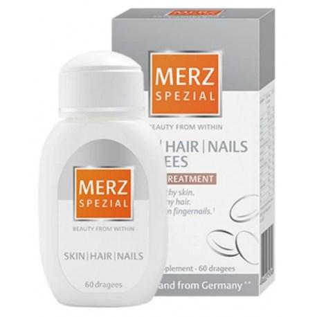 Merz spezial dražeje za zdravu kožu, kosu i nokte 60 kom.
