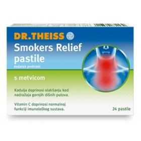 Smokers Relief pastile s metvicom