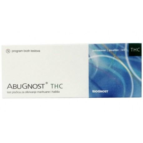 Abugnost THC test pločica za otkrivanje marihuane u urinu