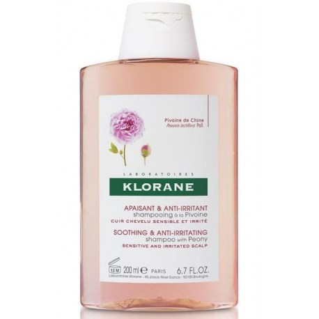 Klorane šampon s božurom 200ml