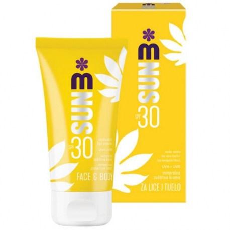 Melem SUN mineralna zaštitna krema za lice i tijelo SPF 30, 150ml