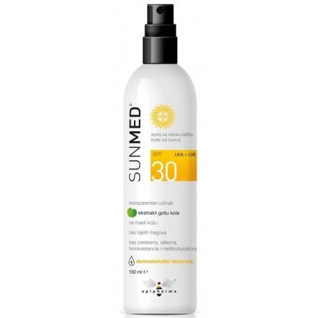 Sunmed sprej SPF 30 za visoku zaštitu kože od sunca
