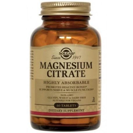 Solgar Magnezij citrat tablete 60 kom.
