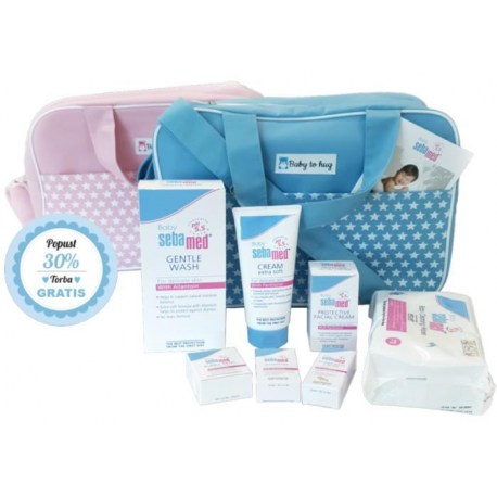 Sebamed Baby torba s proizvodima za njegu kože bebe od rođenja