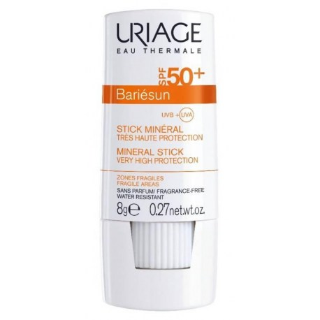 Uriage BARIESUN SPF50+ mineralni stik 8g