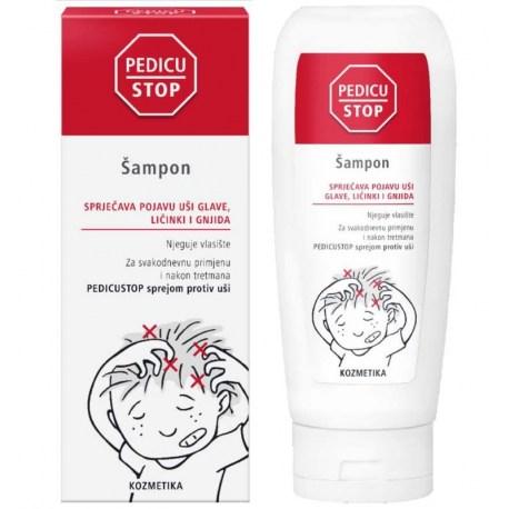 PedicuStop šampon sprječava pojavu uši glave 150ml