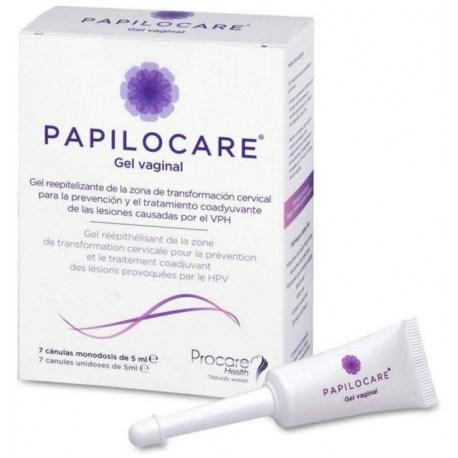 Papilocare gel za rodnicu, 7x5ml