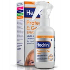 Hedrin Protect & Go sprej štiti od uši i gnjida