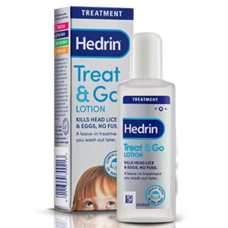 Hedrin Treat&Go losion uklanja uši i gnjide iz kose