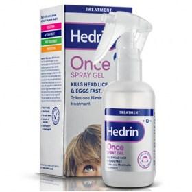 Hedrin Once Gel sprej protiv uši i gnjida