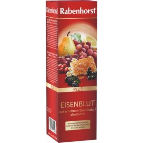 Rabenhorst Eisenblut Plus dodatak prehrani sa željezom 450ml