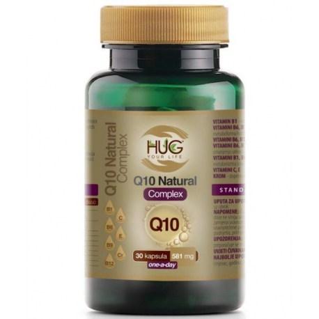 HUG Q10 Natural Complex kapsule 30 kom.
